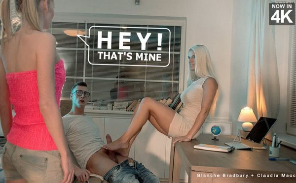 Blanche Bradburry, Claudia Macc – Hey! That's Mine HD