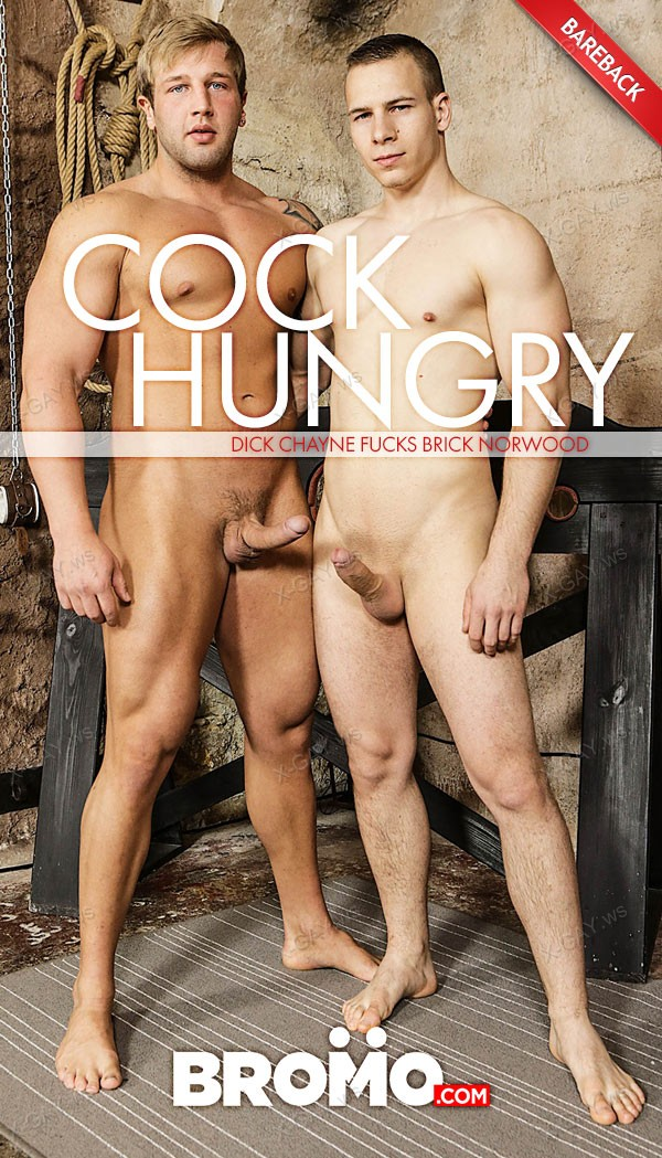 Bromo: Cock Hungry (Brick Norwood, Dick Chayne) (Bareback)