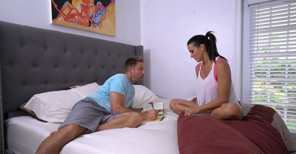 "Reagan Foxxx in ""Mother Helps Son Relieve Stress, to Pass his Class…"" MP4 HD"