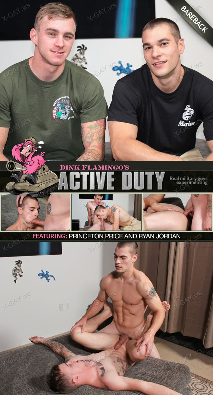 ActiveDuty: Ryan Jordan, Princeton Price (Bareback)