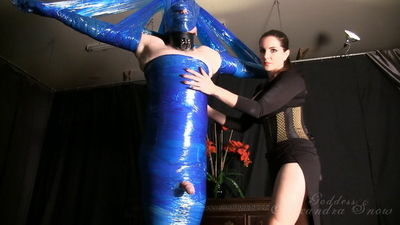 Goddess Alexandra Snow – Wrapped and Ruined