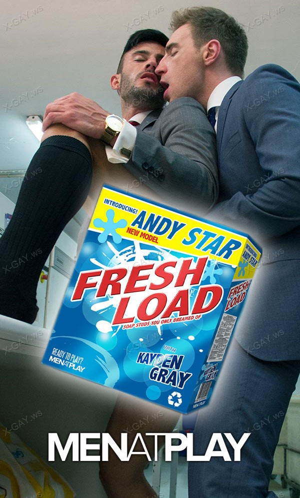 MenAtPlay: Andy Star, Kayden Gray