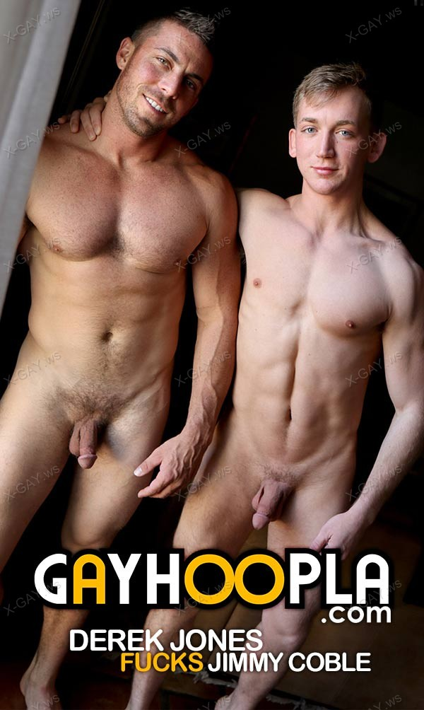 GayHoopla: Jimmy Coble's First-Time Gay Sex (Gets Fucked By Derek Jones)