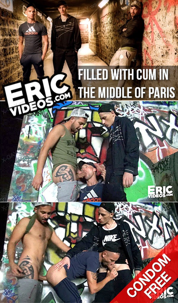 EricVideos: Filled With Cum In The Middle Of Paris (Bareback)