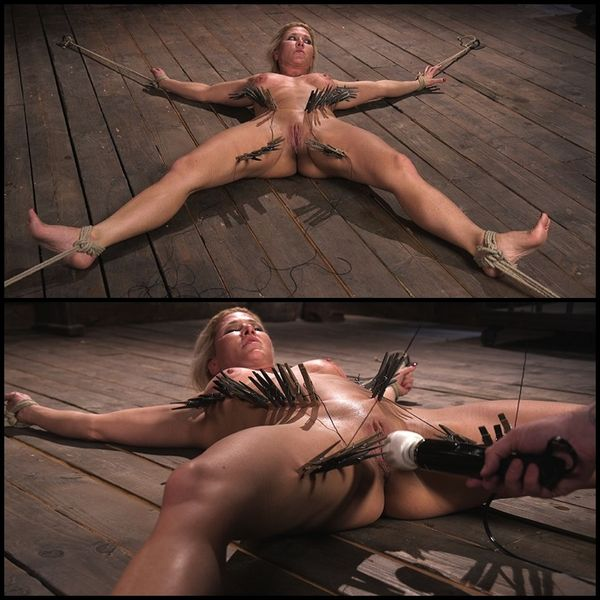 Ariel X is Tormented in Brutal Bondage and Double Penetrated | Full HD 1080p | Release Date: Jul 6, 2017