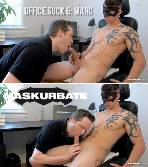 Maskurbate: Office Suck 6: Marc
