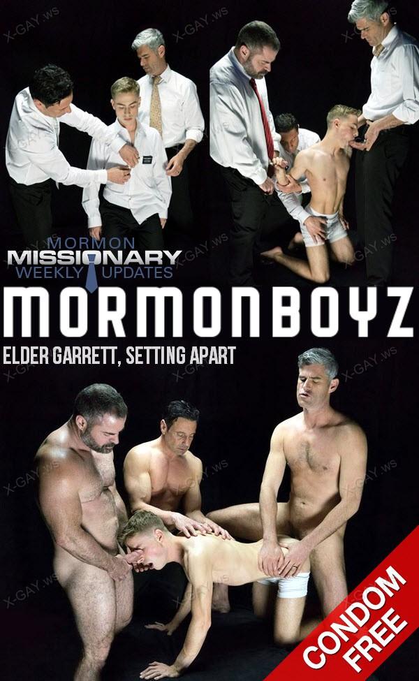 MormonBoyz: Elder Garrett, Setting Apart (Bareback)