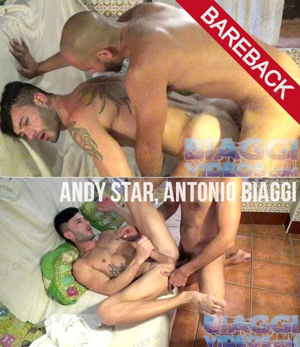 BiaggiVideos: Morrocan Server (Andy Star, Antonio Biaggi) (Bareback)