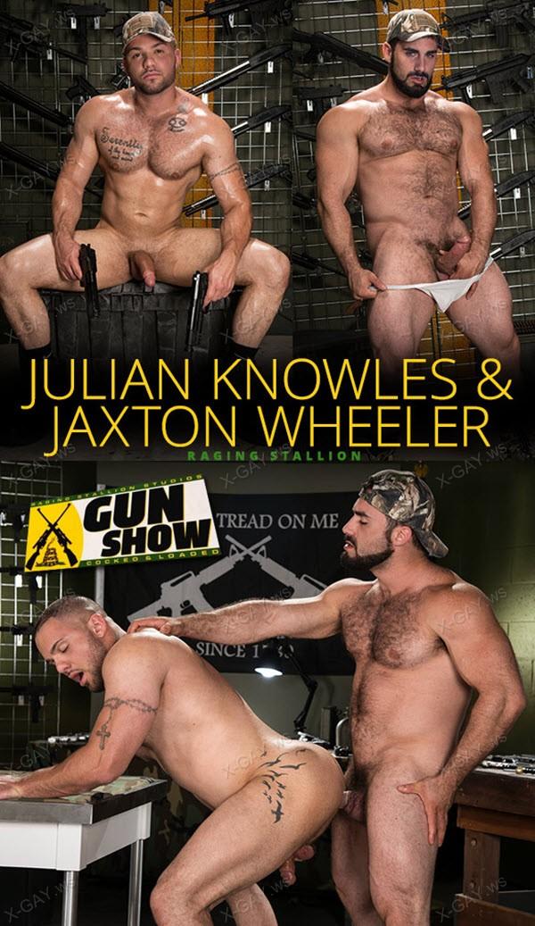 RagingStallion: Gun Show (Jaxton Wheeler, Julian Knowles)