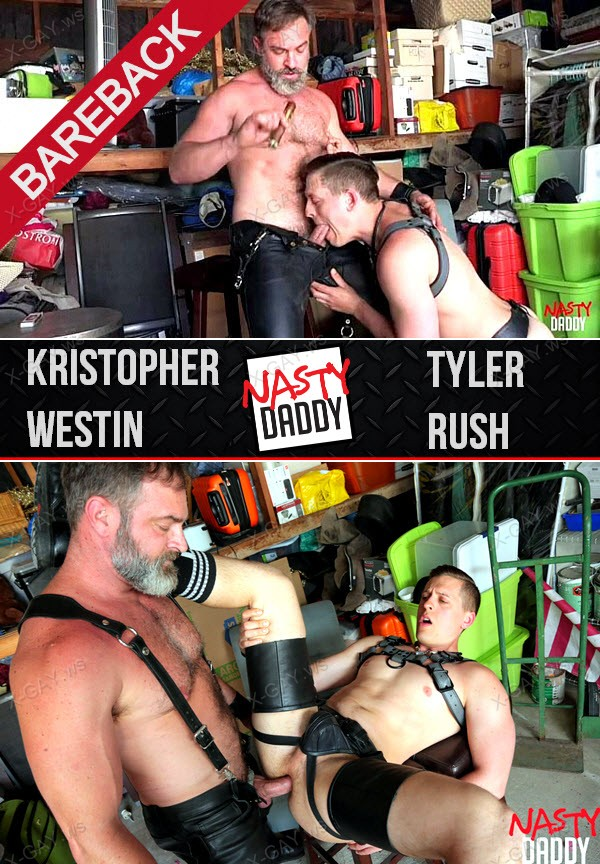 NastyDaddy: Lick It Boy (Kristopher Westin, Tyler Rush) (Bareback)