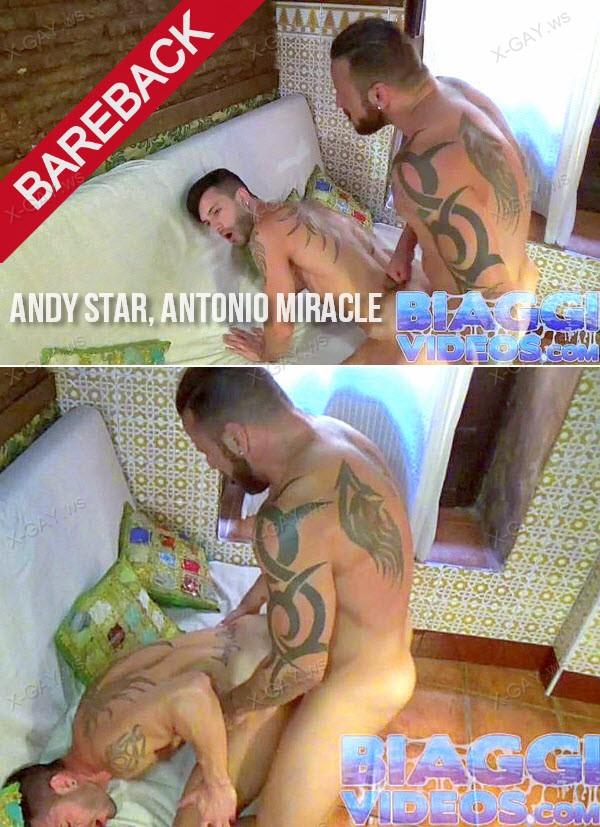 BiaggiVideos: Moroccan Tea Room (Andy Star, Antonio Miracle) (Bareback)