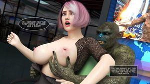 [3D Porn Comic] [Amusteven] Sudden Invasion [rape]