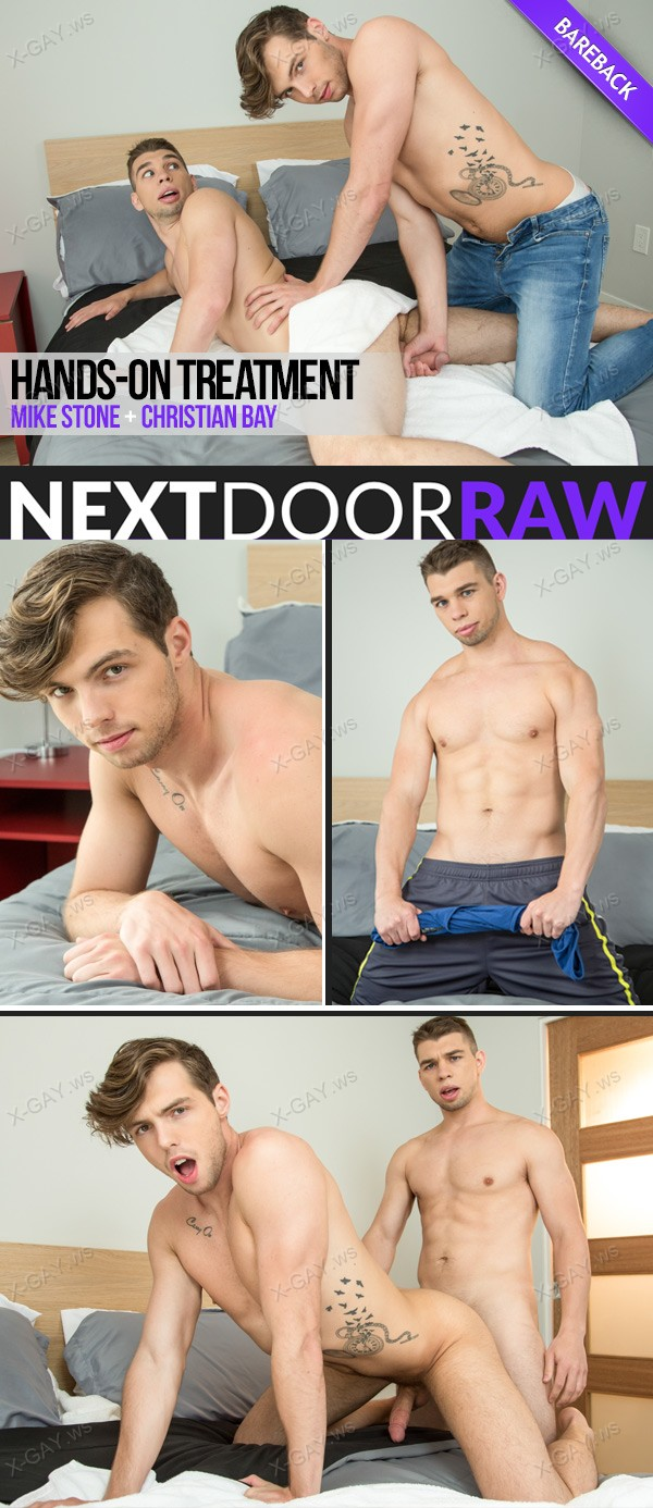 NextDoorRaw: Hands On Treatment (Christian Bay, Mike Stone) (Bareback)