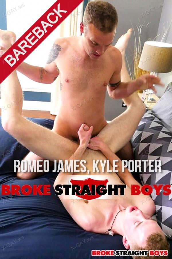 BrokeStraightBoys: Romeo's Raw Cock Fucks Kyle Porter (Romeo James, Kyle Porter) (Bareback)
