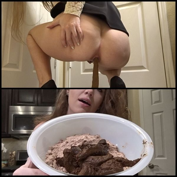 Mommy Takes A Huge Shit Dump to Bake German Chocolate Cake (Release: August 26, 2017)