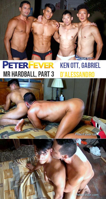 PeterFever: Mr Hardball, Part 3: Mr. Hardball and the Heckler (Ken Ott, Gabriel D'Alessandro)