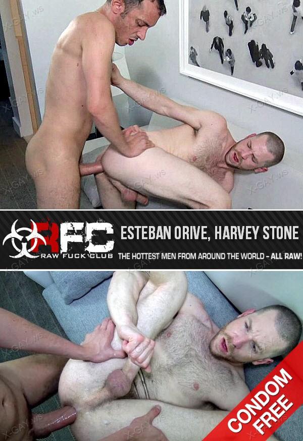 RawFuckClub: Big Dick Ecstasy (Esteban Orive, Harvey Stone) (Bareback)