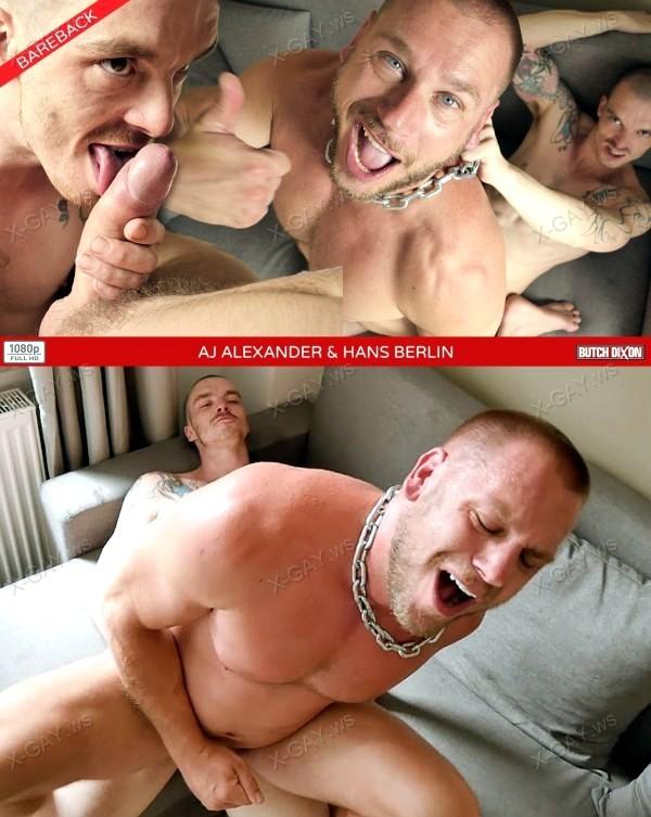 ButchDixon: AJ Alexander, Hans Berlin (Bareback)