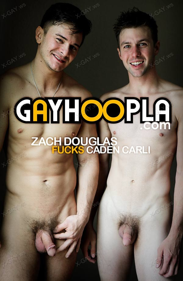 GayHoopla: Ripped Zach Douglas FUCKS Caden Carli