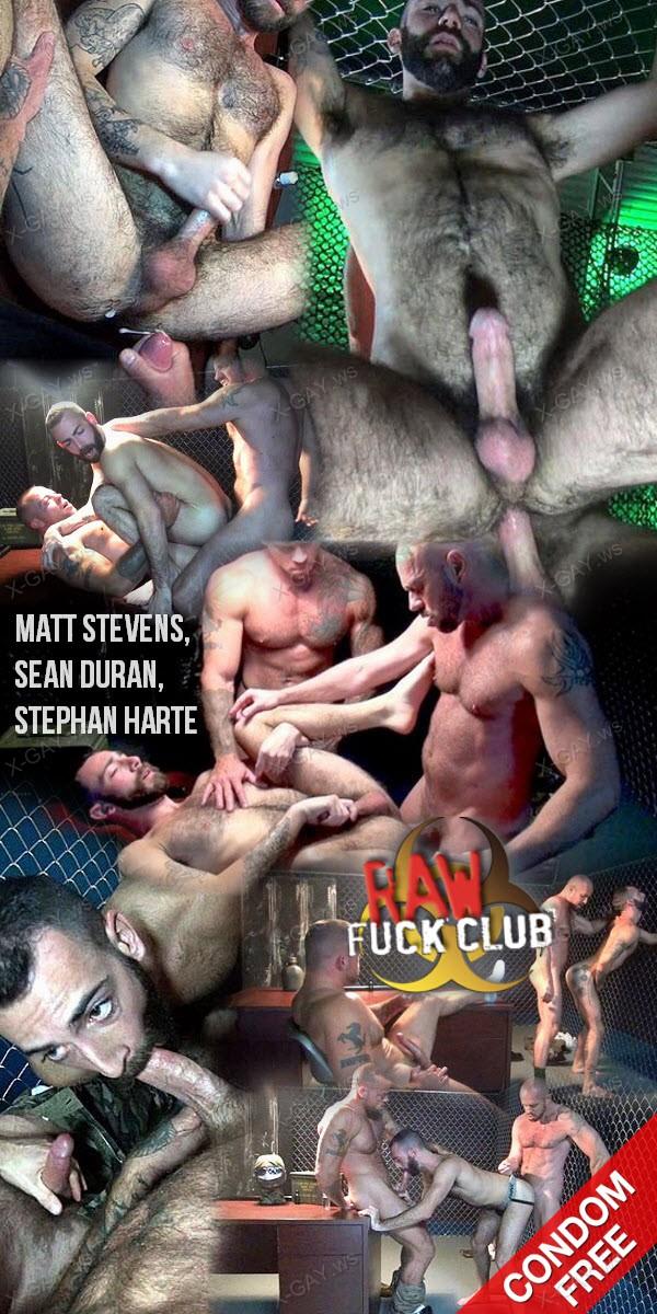 RawFuckClub: Gaytanamo 2, Scene 9: Interrogation Fuck Down (Matt Stevens, Sean Duran, Stephan Harte) (Bareback)