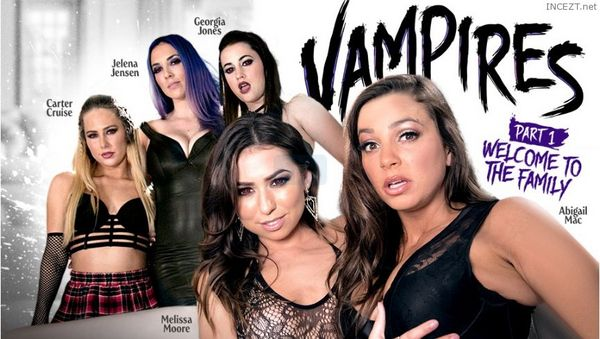 Vampires Part 1 – Welcome To The Family – Carter Cruise, Melissa Moore, Abigail Mac, Jelena Jensen, Georgia Jones HD