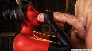 [3D Porn Comic] [Intrigue3D] Succubus Lust - Extra [gloves]