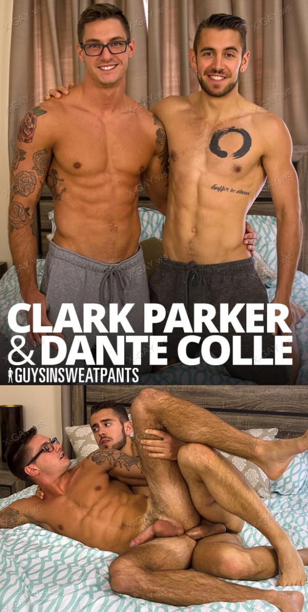 GuysInSweatpants: Dante Colle, Clark Parker (Bareback)
