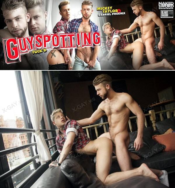 NakedSword: Guyspotting (Gabriel Phoenix, Mickey Taylor)