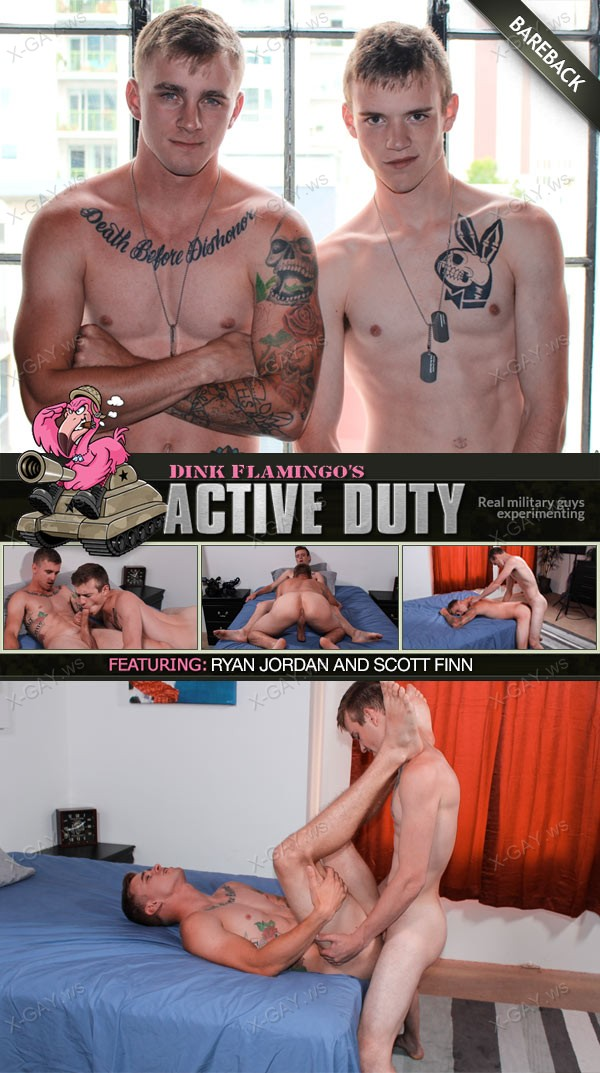 ActiveDuty: Scott, Ryan Jordan (Bareback)