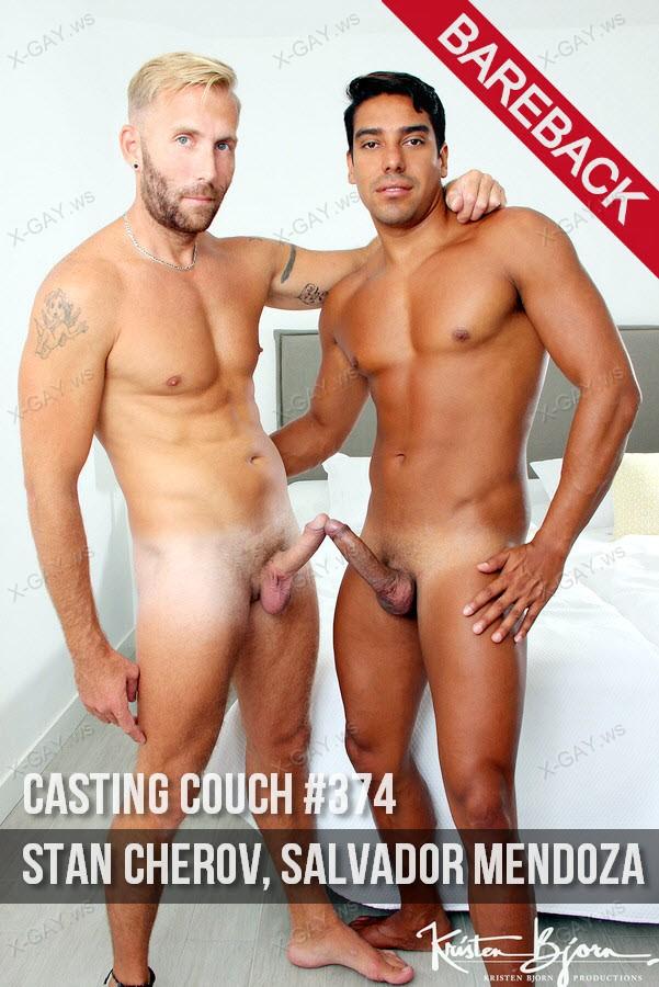 KristenBjorn: Casting Couch #374 (Stan Cherov, Salvador Mendoza) (Bareback)
