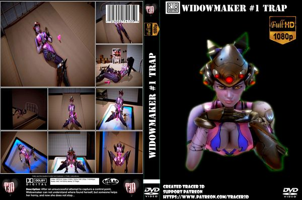 [Tracer3D] [3D Hentai Anime] Widowmaker - Trap (2017) [parody] HD 720p