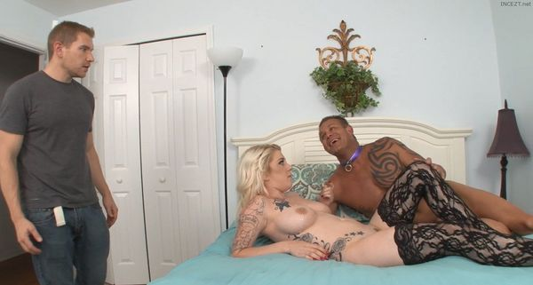 Chanel Dominates Her Father and Brother HD
