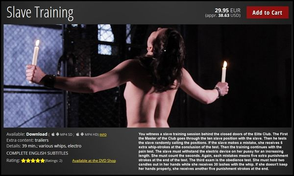 Slave Training | HD 720P | Release Year: October 29, 2017