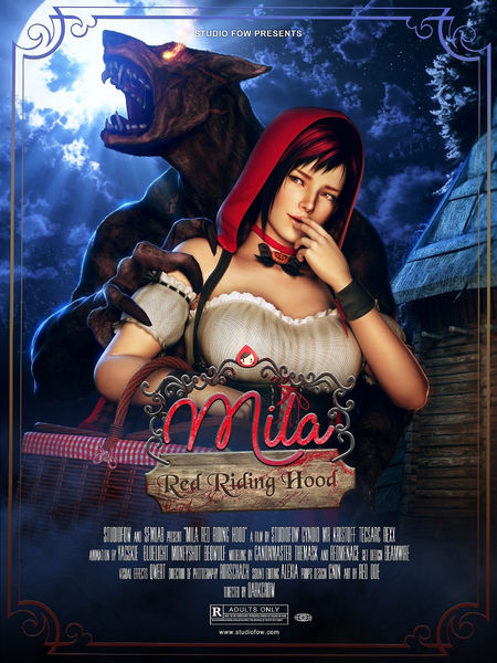 [StudioFOW] [3D Hentai Anime] [FOW-012] Mila Red Riding Hood (2017) [rape] HD 720p