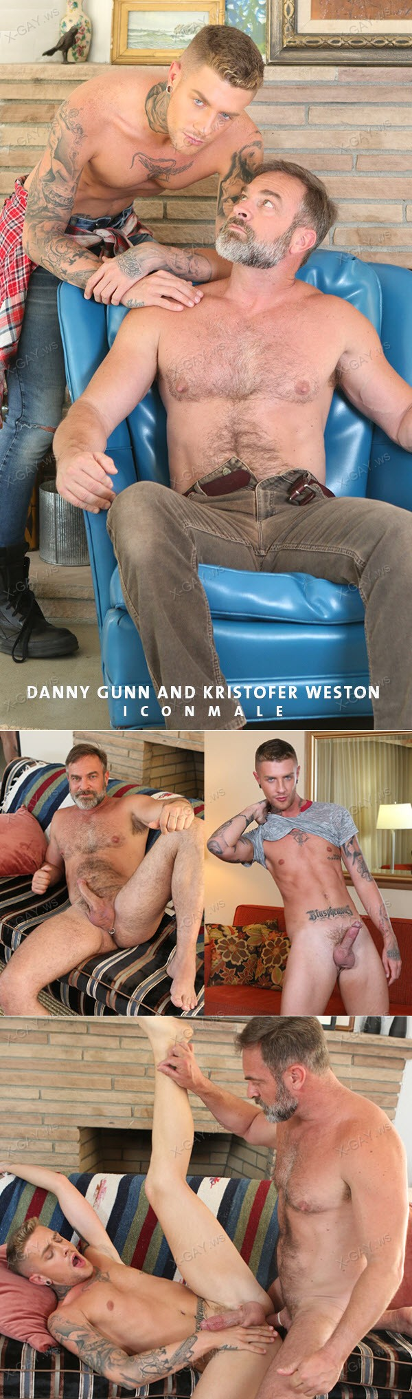 IconMale: In My Stepfather's Arms (Danny Gunn, Kristofer Weston)