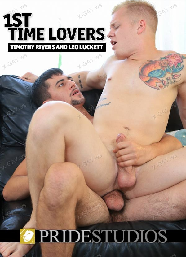 PrideStudios: 1st Time Lovers (Timothy Rivers, Leo Luckett)