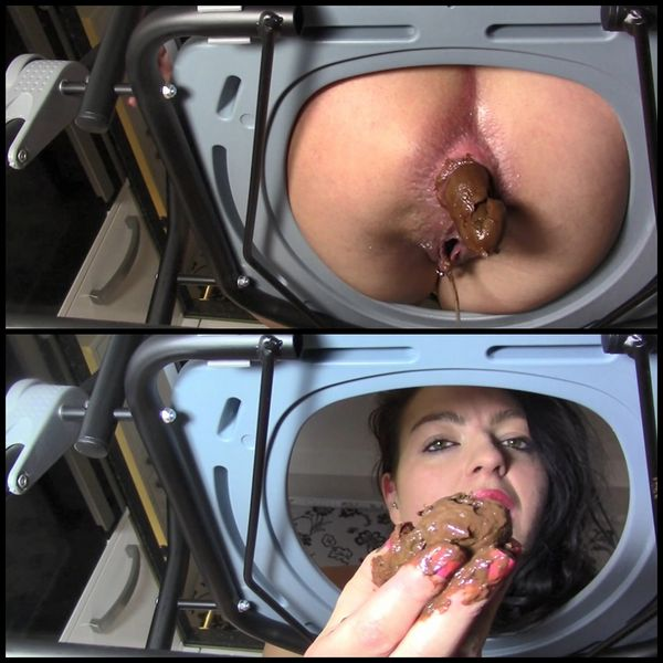 Cum, Pee And Poo For My Toilet Slave (Toilet Chair) with evamarie88 | Full HD 1080p | Release Year: November 4, 2017