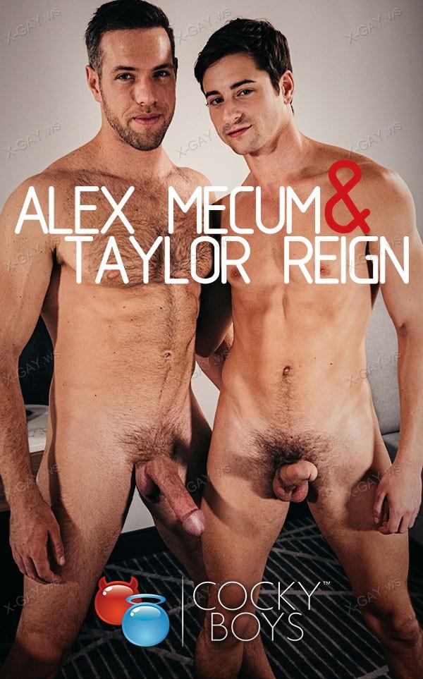 CockyBoys: Alex Mecum, Taylor Reign