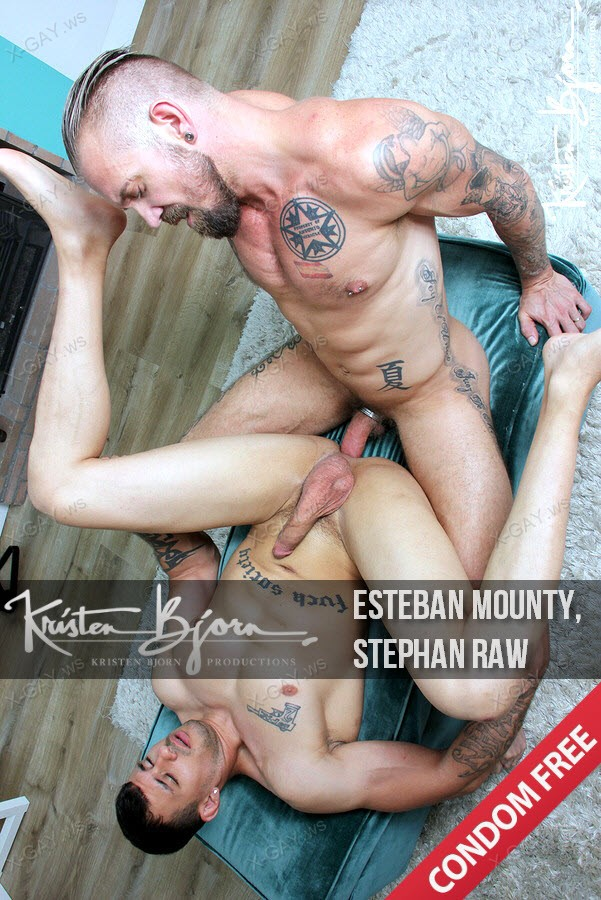 KristenBjorn: Esteban Mounty, Stephan Raw (Casting Couch #376) (Bareback)