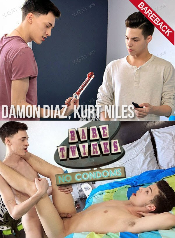 BareTwinks: Damon Diaz, Kurt Niles (Horny Boys Discovering Toys) (Bareback)