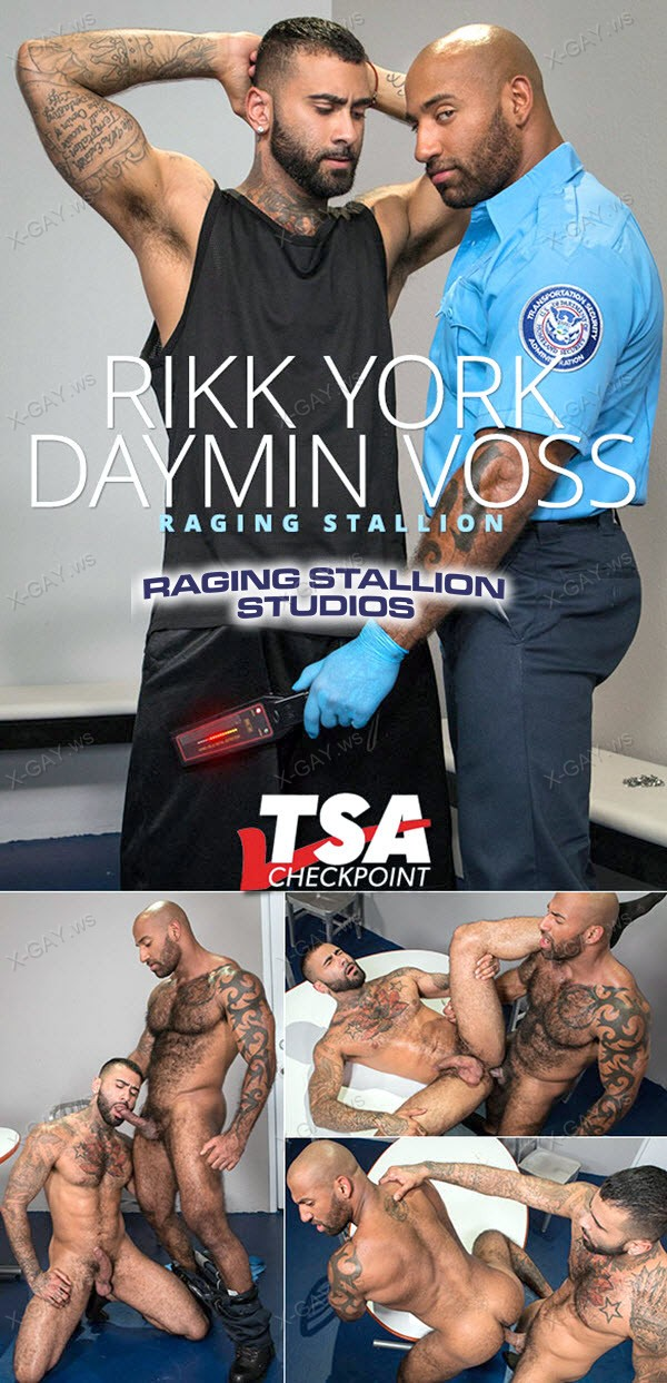 RagingStallion: Rikk York, Daymin Voss (TSA Checkpoint)