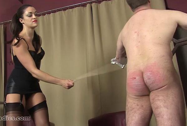 Leda ladies spanking