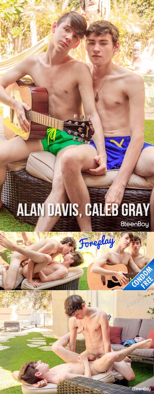 8TeenBoy: Alan Davis, Caleb Gray (Foreplay) (Bareback)
