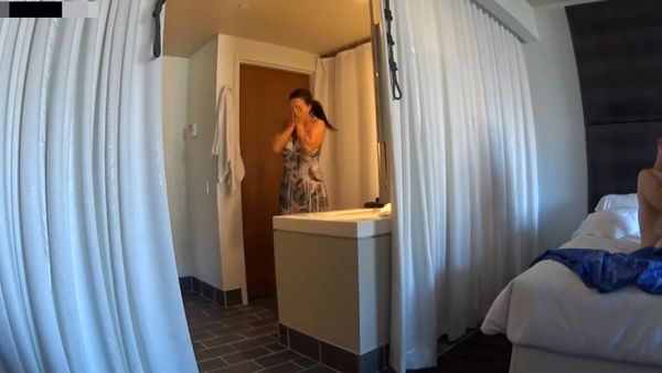Mom Spies On Son Fucking GF HD