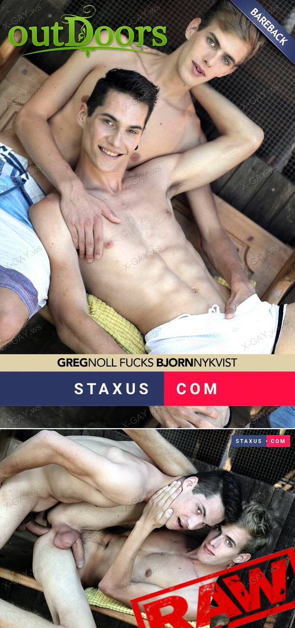 Staxus: Bjorn Nykvist, Greg Noll (Out Of The Woods) (Bareback)