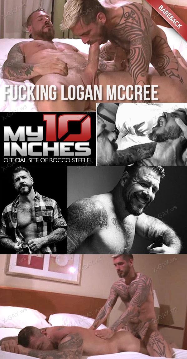 My10Inches: Fucking Logan McCree (Bareback)