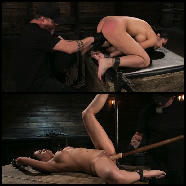Newbie Pain Slut Cassandra Cain Coerced with Orgasms and Metal Bondage | HD 720P | Release Year: November 30, 2017