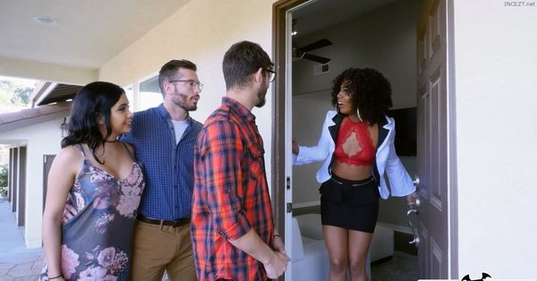 A Hot Threesome With Dad's New GF – Misty Stone, Aaliyah Hadid HD