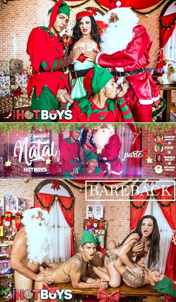 HotBoys: Junior Rodrigues, Kaue, Ricardo Pirocao, Bianca Naldy (Especial De Natal 2017, Parte 2) (Bareback)