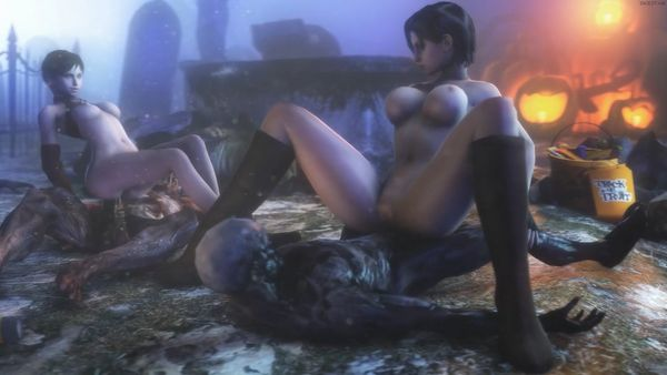 """Best Animated Porn Compilation – """"Resident Evil"""" Edition [1080p] [WITH SOUND] [1h]"""